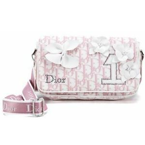 NEVER USED Dior Trotter Girlie Pink Purse